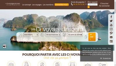 Site internet de Les Covoyageurs