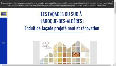 Site internet de Les Facades du Sud