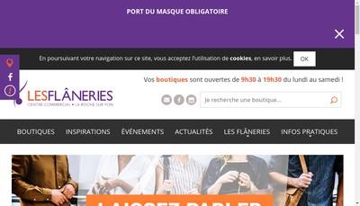 Site internet de SARL Maligorne Flaneries