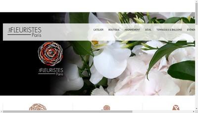 Site internet de Les Fleuristes