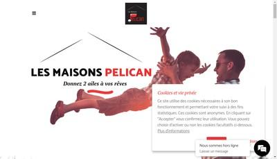 Site internet de Les Maisons Pelican