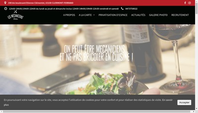 Site internet de Orso les Mecaniciens