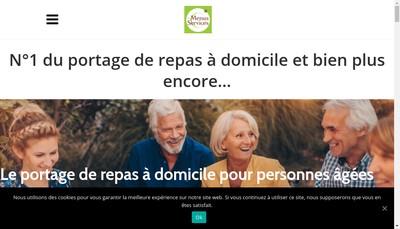 Site internet de Les Menus Services