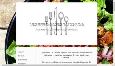 Site internet de Les Terrasses du Valdo