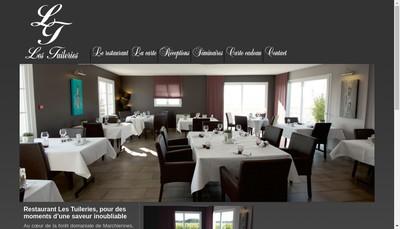 Site internet de SARL les Tuileries