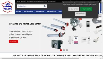 Site internet de Les 1000 Volets