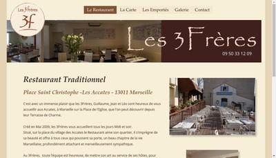 Site internet de Les 3Freres
