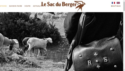 Site internet de Le Sac du Berger