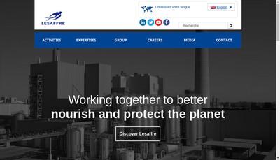 Site internet de Societe Industrielle Lesaffre