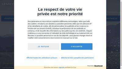Site internet de Lesaffre et Compagnie