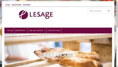Site internet de Maison Lesage