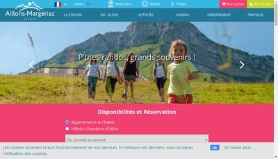 Site internet de JC Fournier Sports