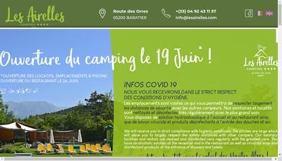 Site internet de Camping le Vachere