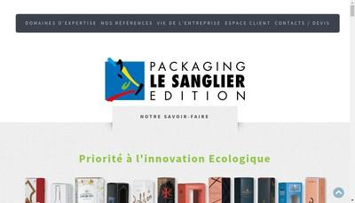 Site internet de Agence le Sanglier Conseil en Comm SA