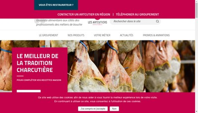 Site internet de Les Artcutiers