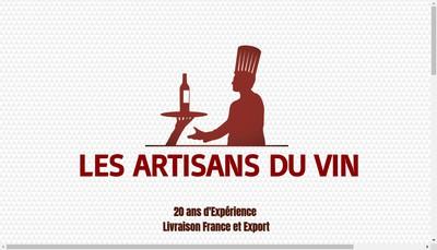 Site internet de Les Artisans du Vin
