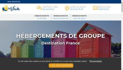 Site internet de Les Asterides