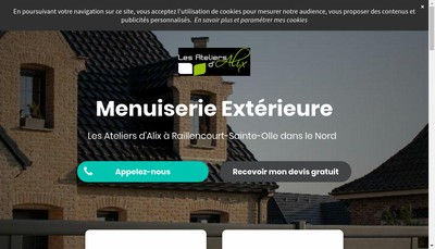 Site internet de Les Ateliers d'Alix Deneuville Joel