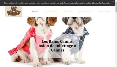 Site internet de Les Bains Canins
