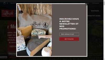 Site internet de Les Balladins