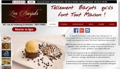 Site internet de Les Barjots