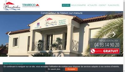 Site internet de Les Bastides