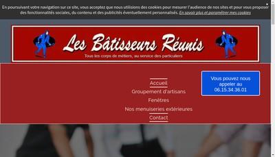 Site internet de Les Batisseurs Reunis