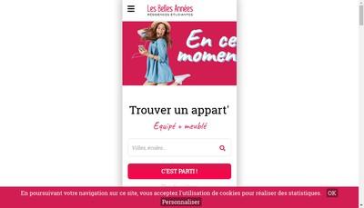 Site internet de Les Belles Annees