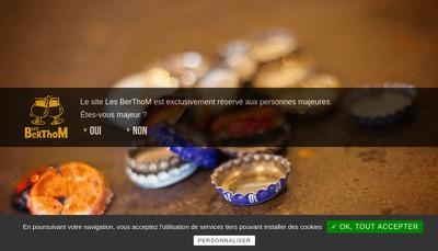 Site internet de Les Berthom