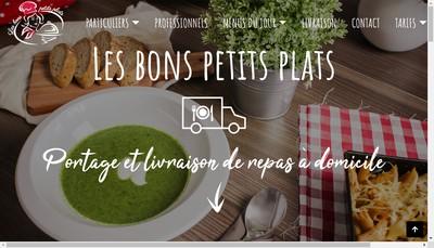 Site internet de Les Bons Petits Plats