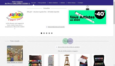 Site internet de Bozarts