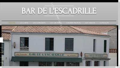 Site internet de L'Escadrille