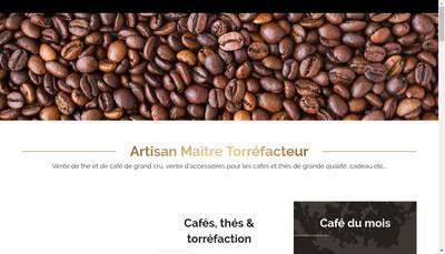 Site internet de Les Cafes de Rhuys