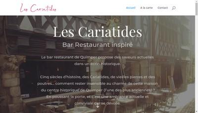 Site internet de Les Cariatides