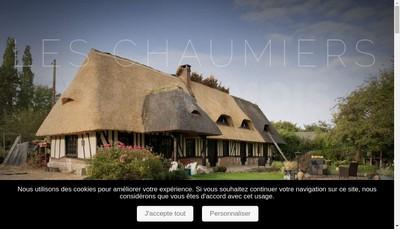 Site internet de Les Chaumiers du Roumois