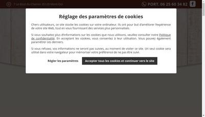 Site internet de SARL les Chevaux de l'Hippocampe