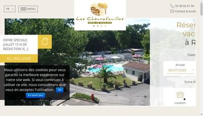 Site internet de Les Chevrefeuilles