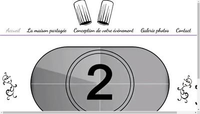 Site internet de Les Delices Partages