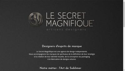 Site internet de Le Secret Magnifique