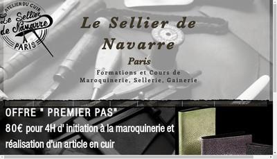 Site internet de Le Sellier de Navarre