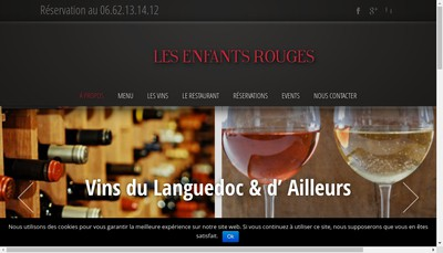 Site internet de Les Enfants Rouges