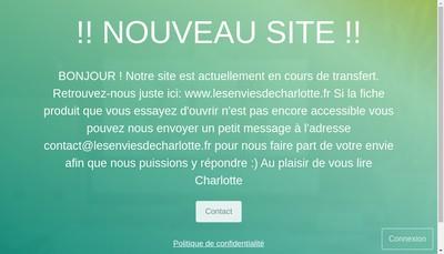 Site internet de Les Envies de Charlotte