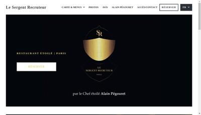 Site internet de Le Sergent Recruteur