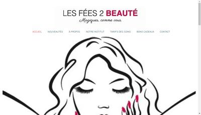 Site internet de Les Fees 2 Beaute