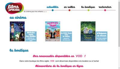 Site internet de Les Films du Preau