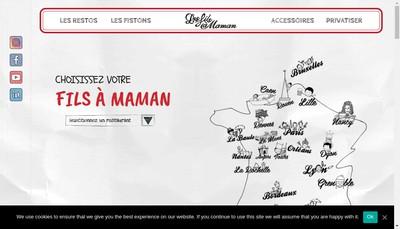 Site internet de Les Fils a Maman
