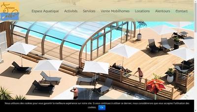 Site internet de Les Fontaines de Nava