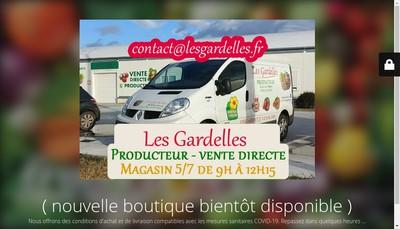 Site internet de Les Gardelles SARL