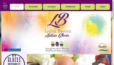 Site internet de Glaces Benito