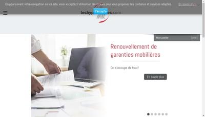 Site internet de www.leshypotheques.com et 3617 Hypo